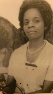 My beloved mother